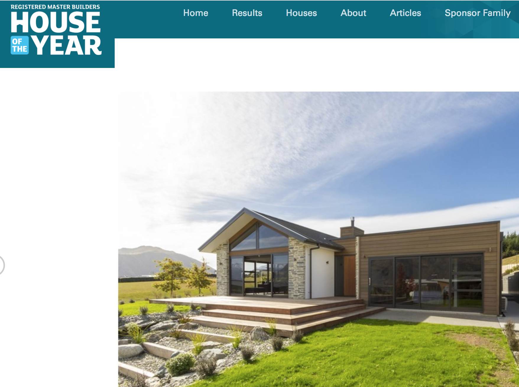 Registered Master Builders: House of the Year