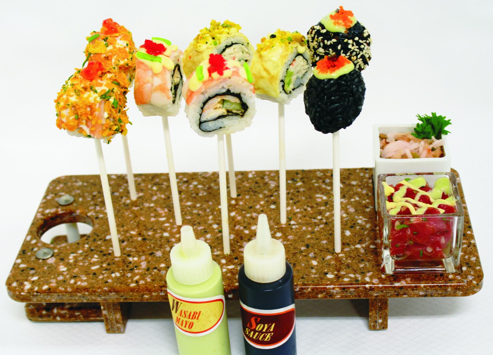 SUSHI LOLIPOP DISH