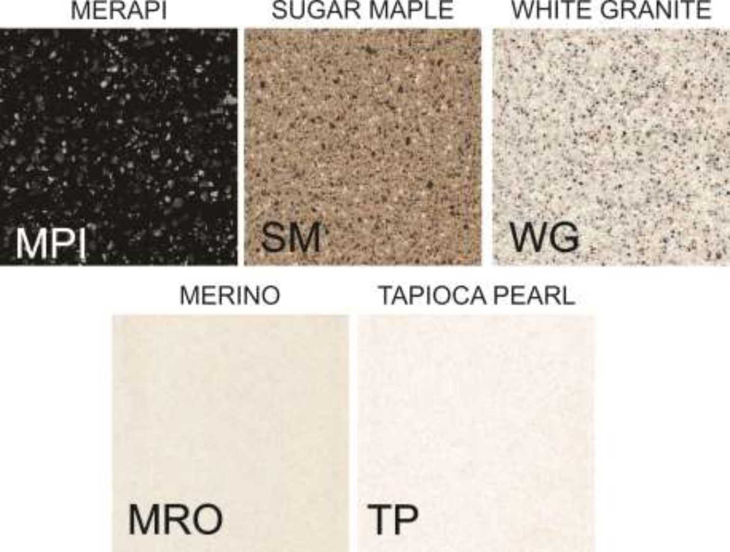 SOLID SURFACE COLORS