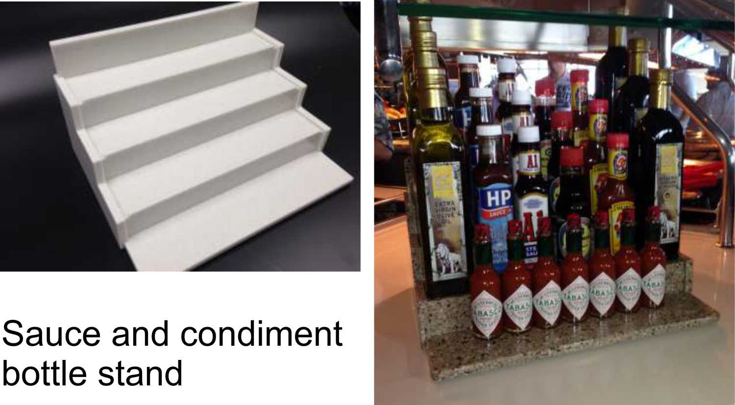 SAUCE BOTTLE STAND