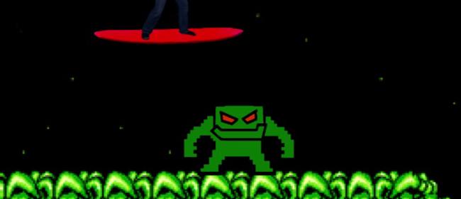 That's the Pixel Demon. That's it. No joke.