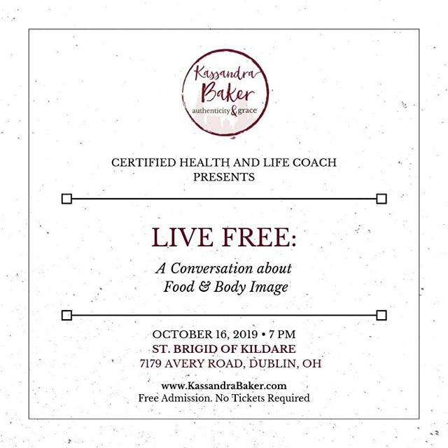 You are Invited! It is possible to LIVE FREE!😀 #livefree #authenticityandgrace #freedomispossible #freedom #intuitiveeating #dietfreedom #dietculture #authenticity #grace #professionalspeaker #bodyimage #bodyacceptance