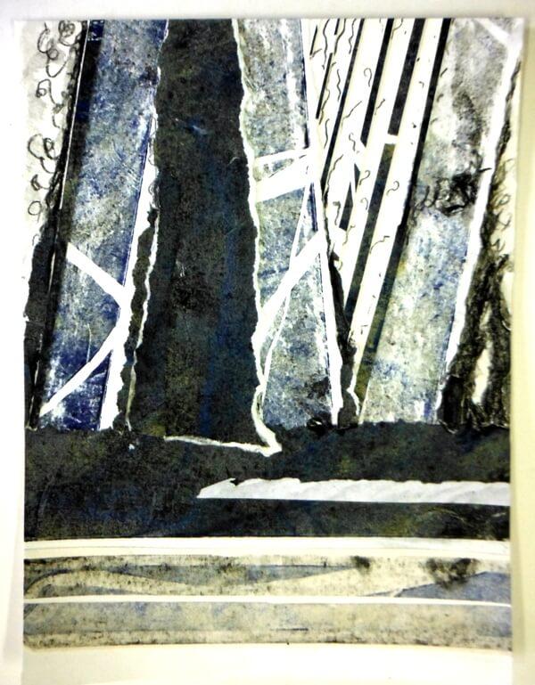 Patricia Martin 2 - Collage Trees