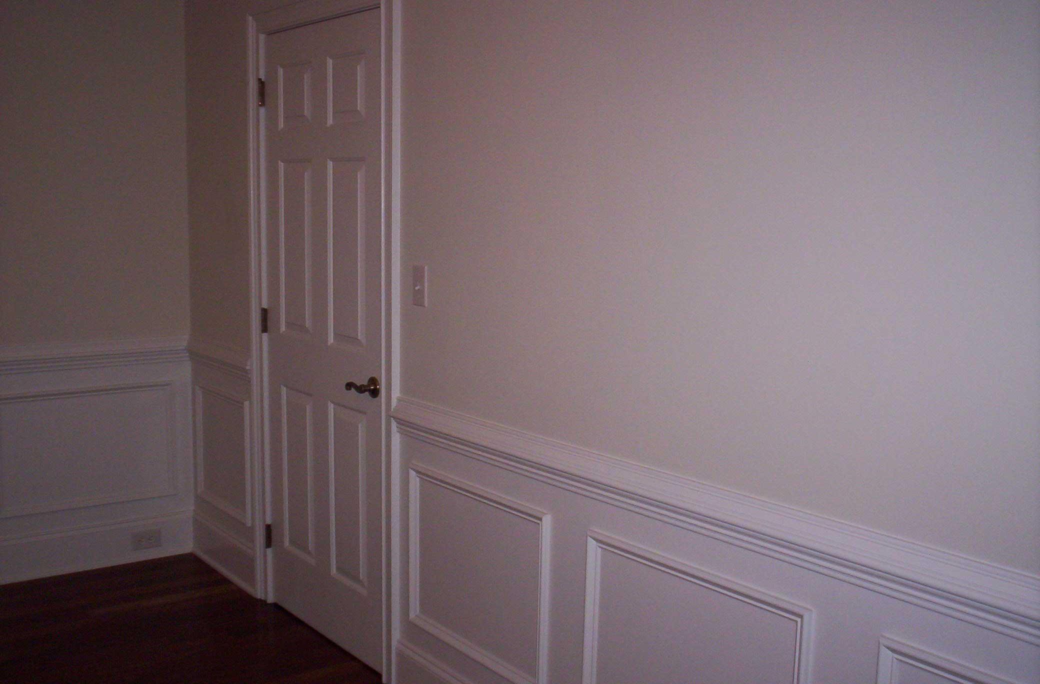 Six Panel Door with Lever Handle