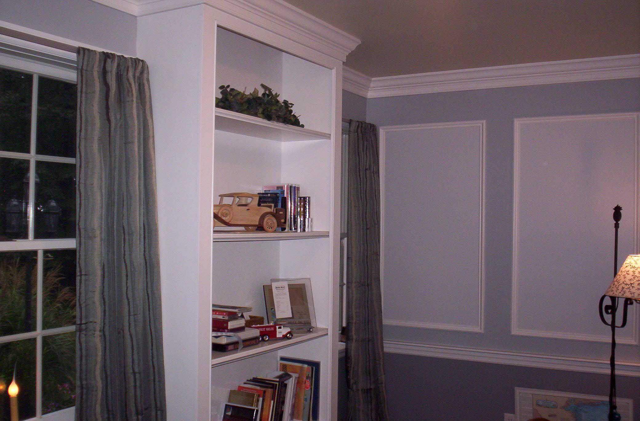 Basic Painted Book Shelf