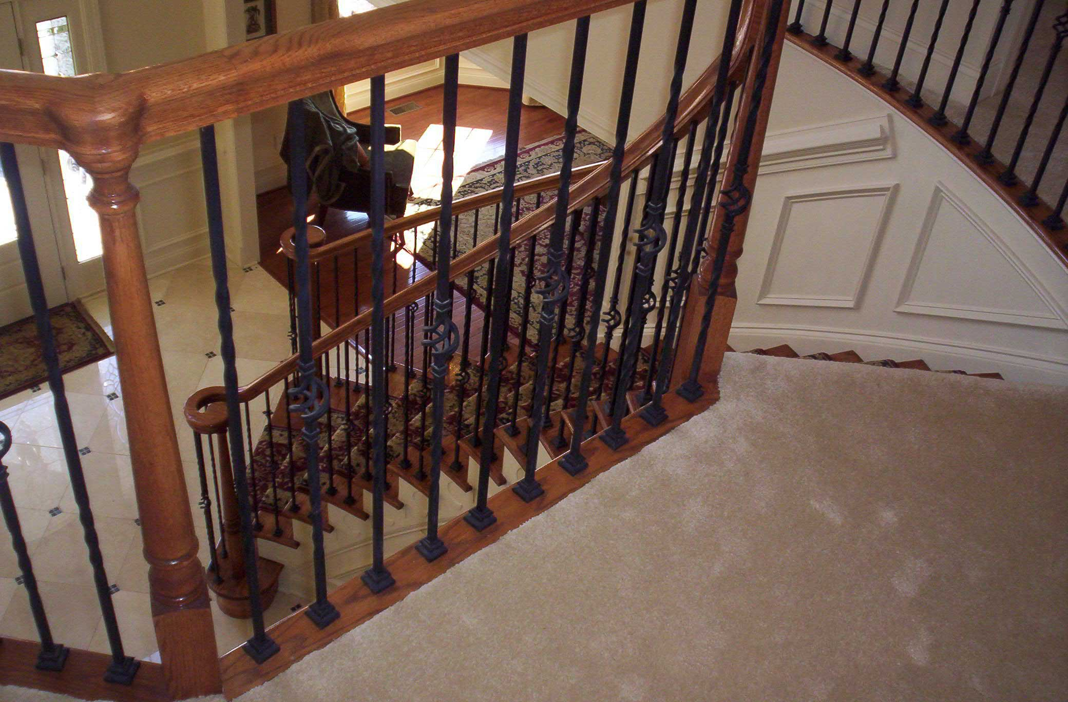 Iron Spindles - Toll Brothers Chesapeake Model