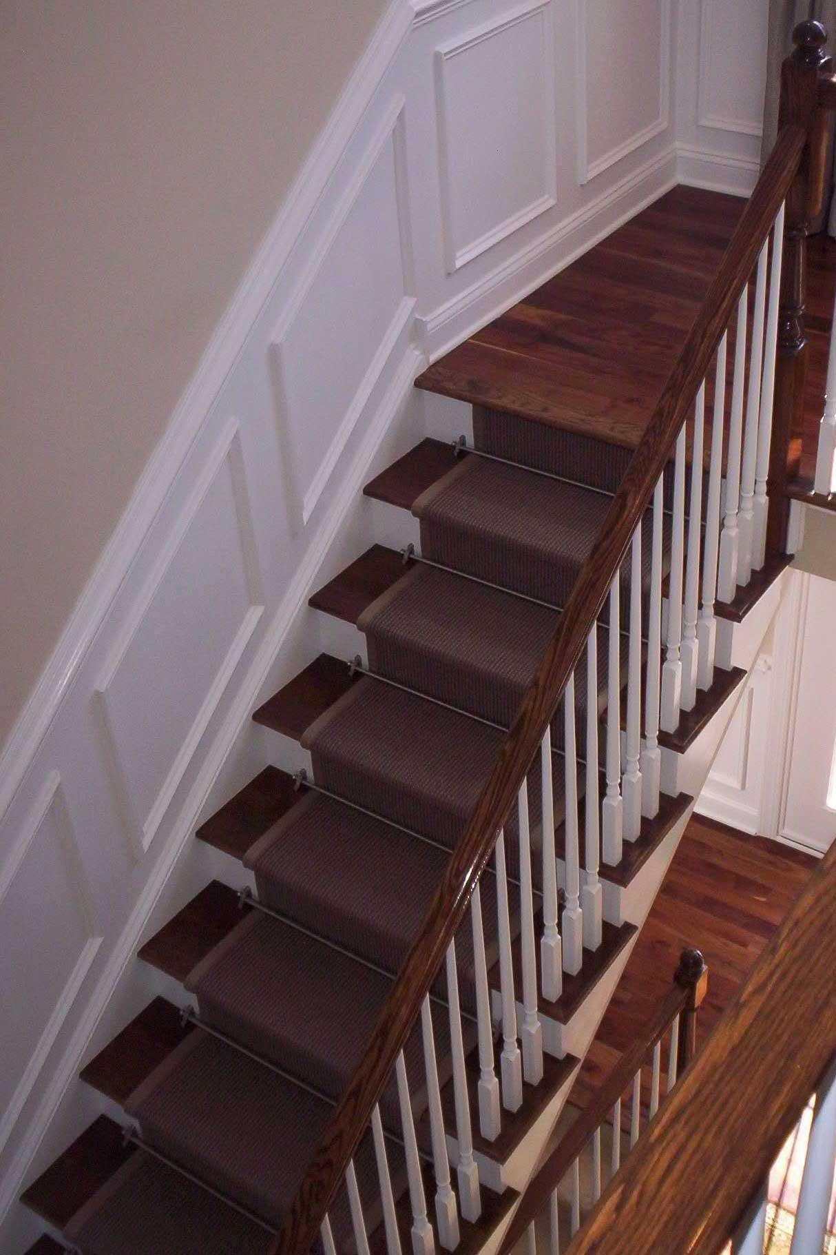 Oak Treads / Painted Risers