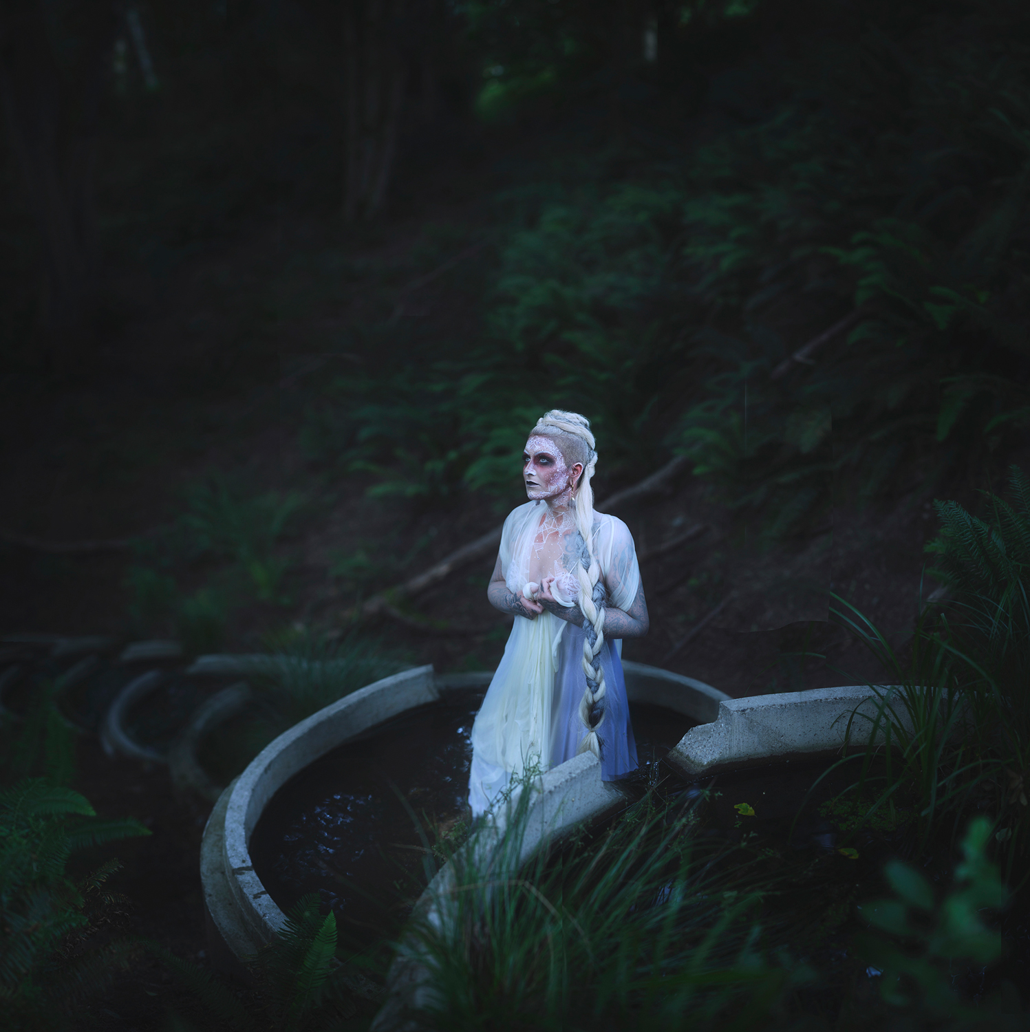 Witch's Bath - Conceptual Portraiture by Seattle Photographer Kelsie Taylor