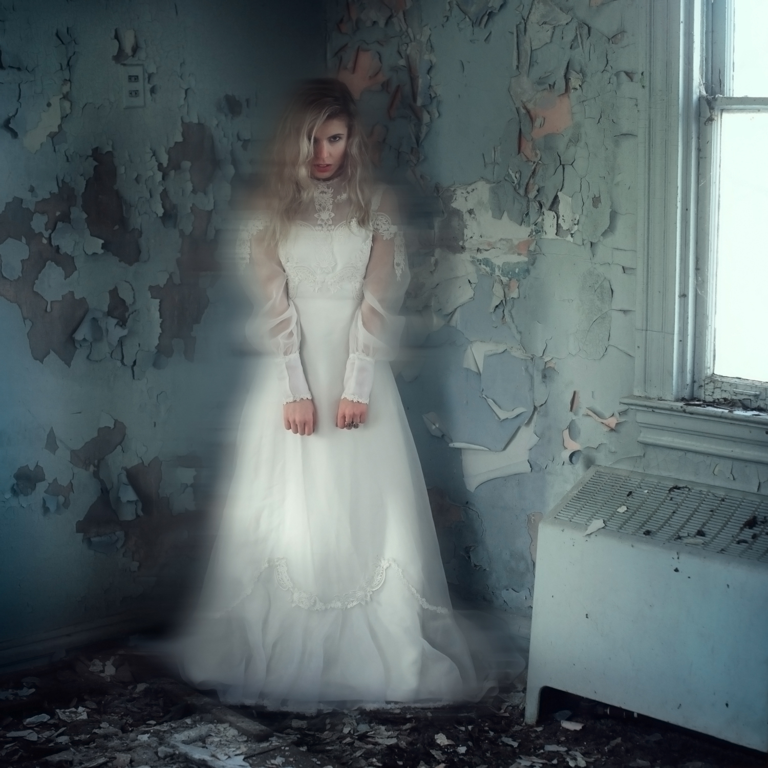 The Forgotten Bride - Ghostly Portraiture by Kelsie Taylor
