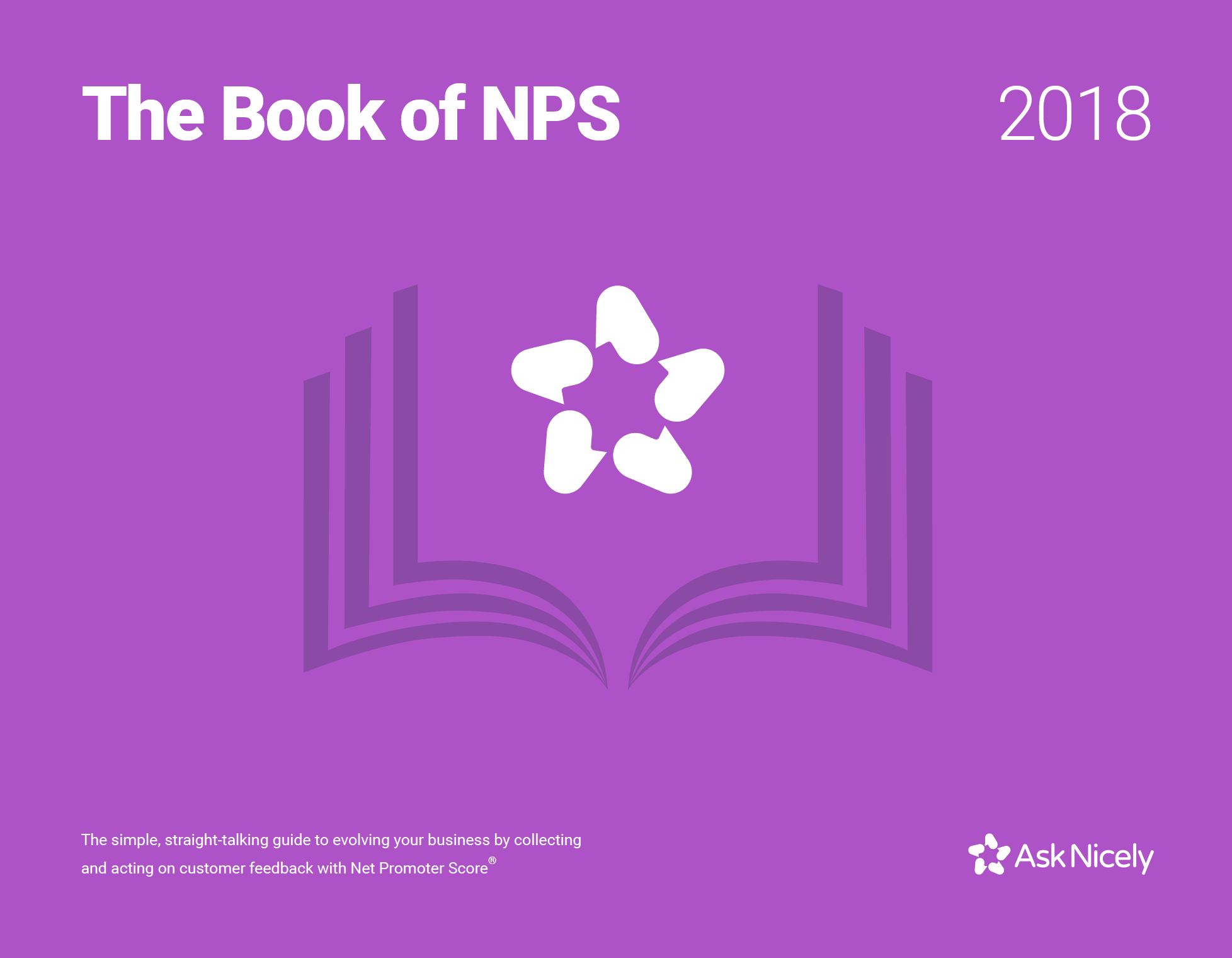 BRAND:  AskNicely   ROLE:  Content and Community Manager   SUMMARY:  Worked with head of design to concept The Book of NPS, which was AskNicely's definitive content piece on the subject of Net Promoter Score.