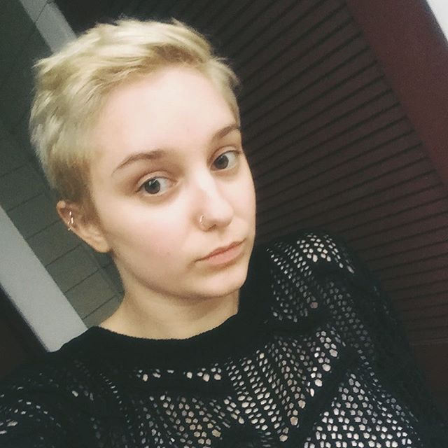 I cut my hair (by the way)
