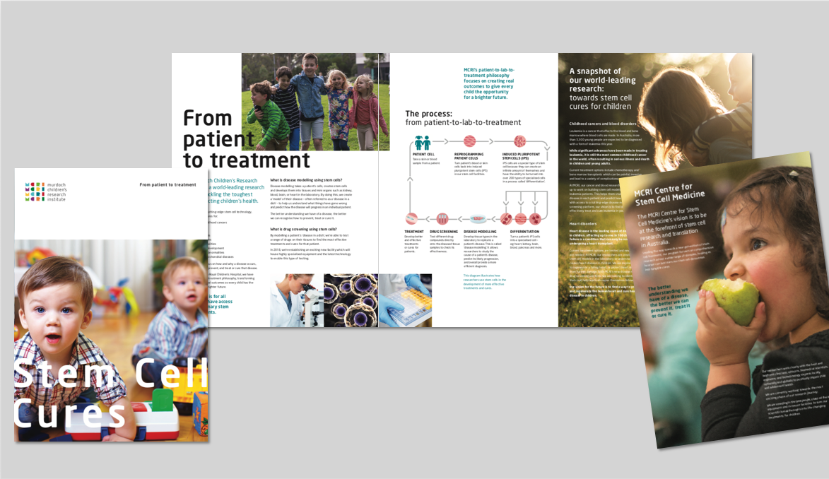 MCRI Stem Cell Brochure
