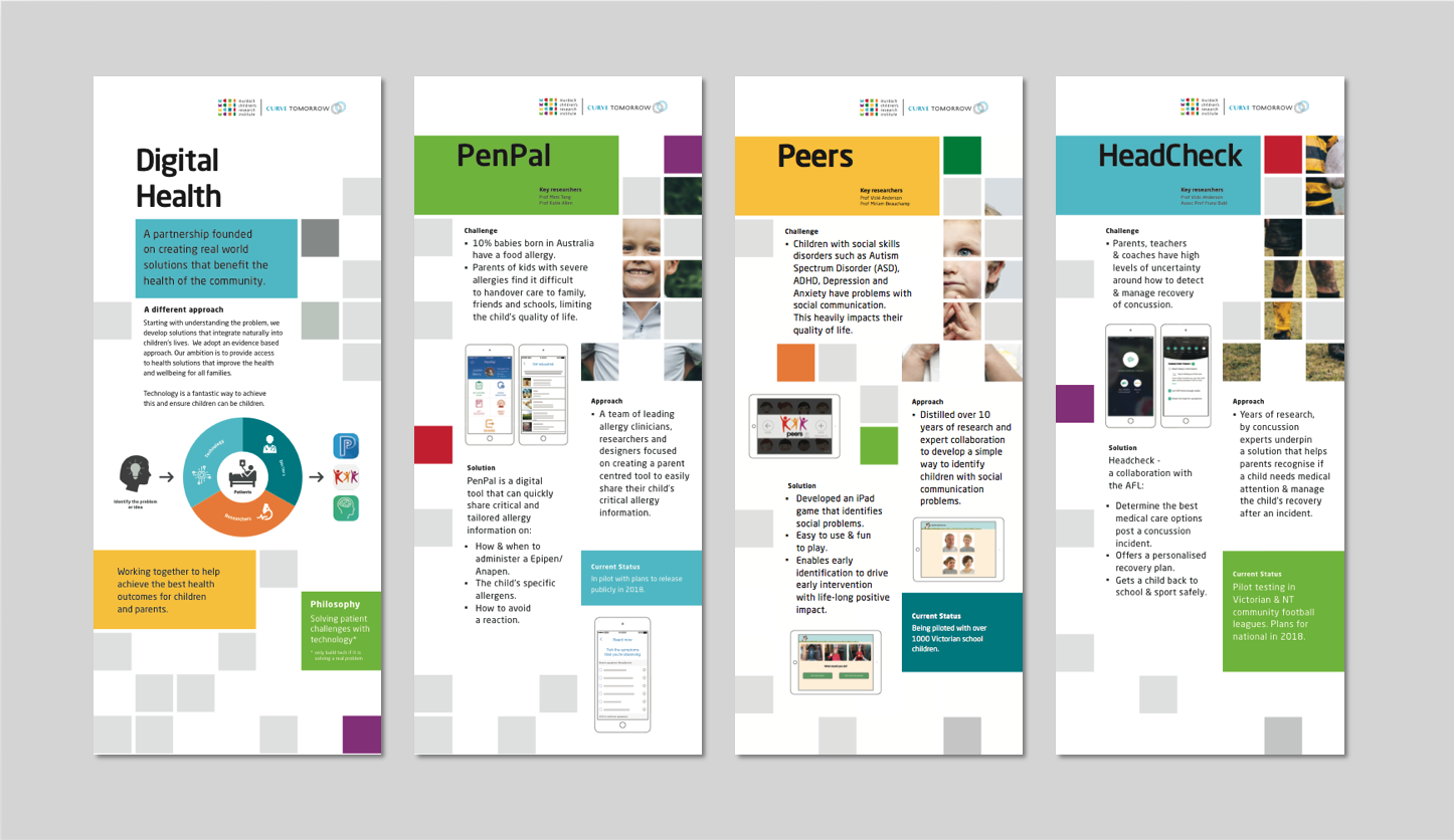 MCRI Banners for Digital Health Apps
