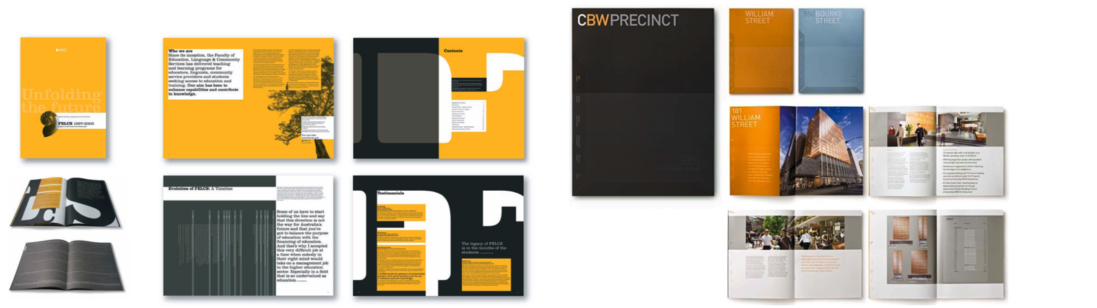 Annual Reports for RMIT and CBW Precinct