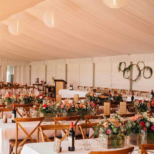 Tables - We carry a wide range of tables for all kinds of events.