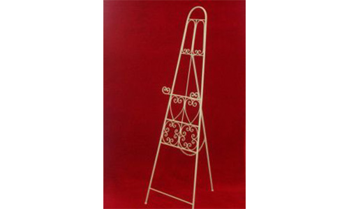 Fancy metal easel