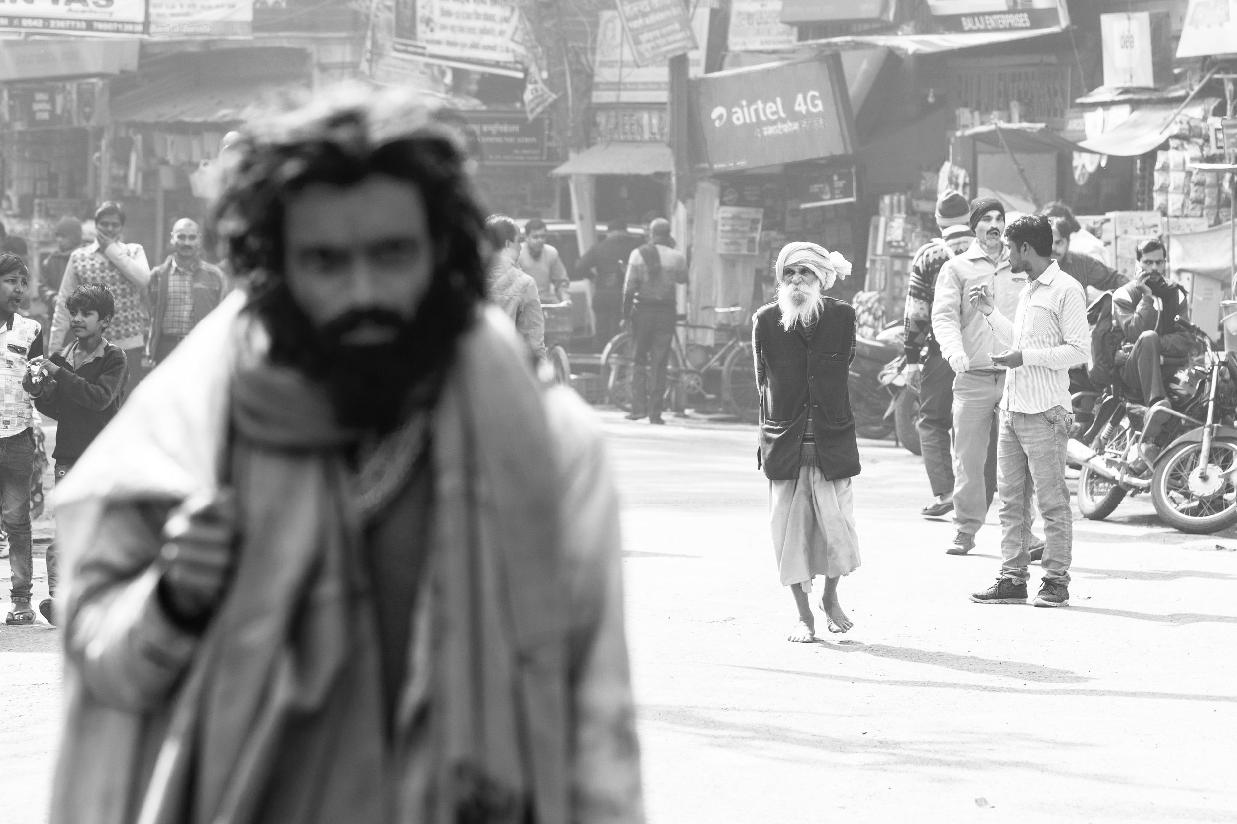 Out of Focus Man_Sadhu_Varanasi_Mono_-1.jpg