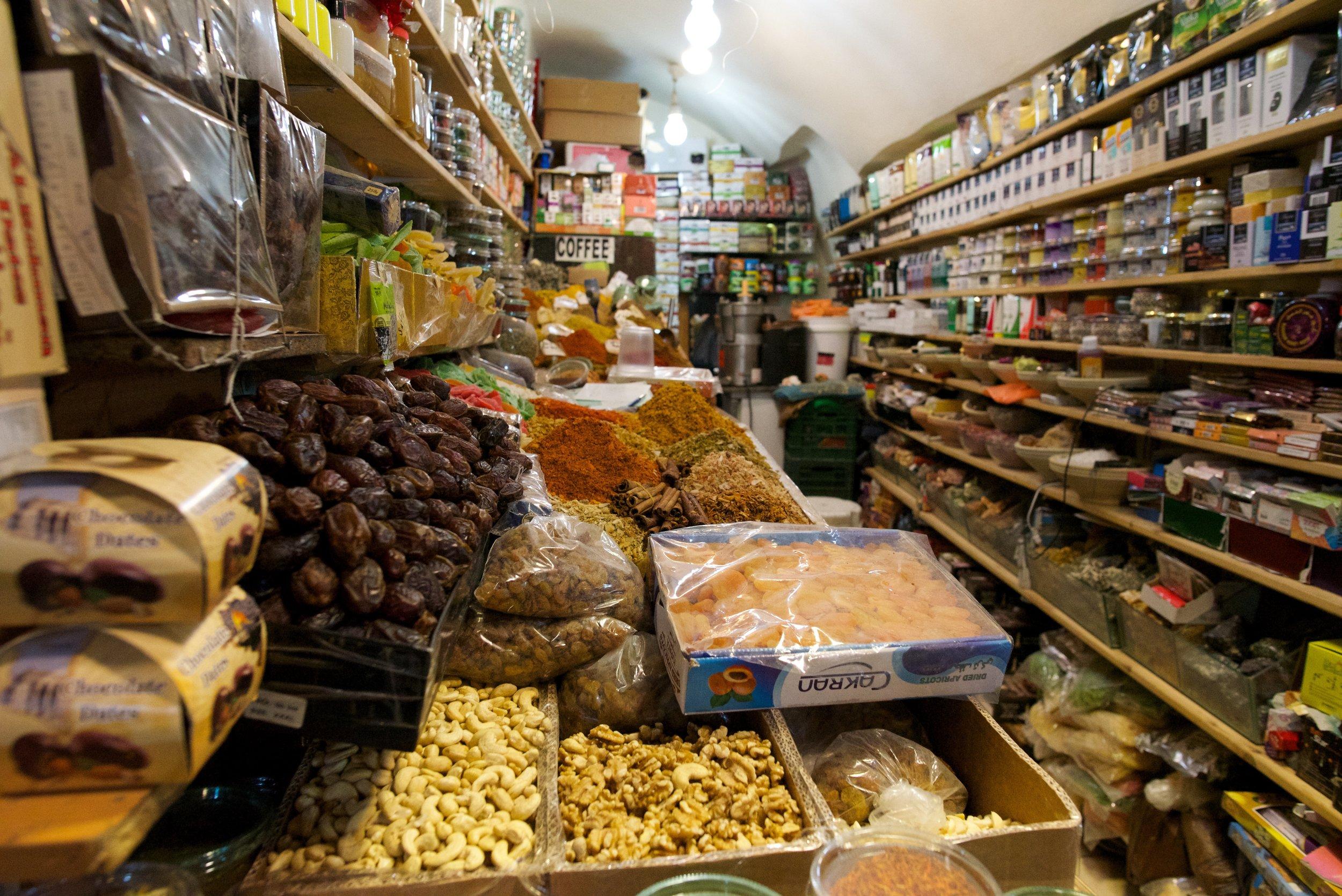 Mahana Yehuda Market