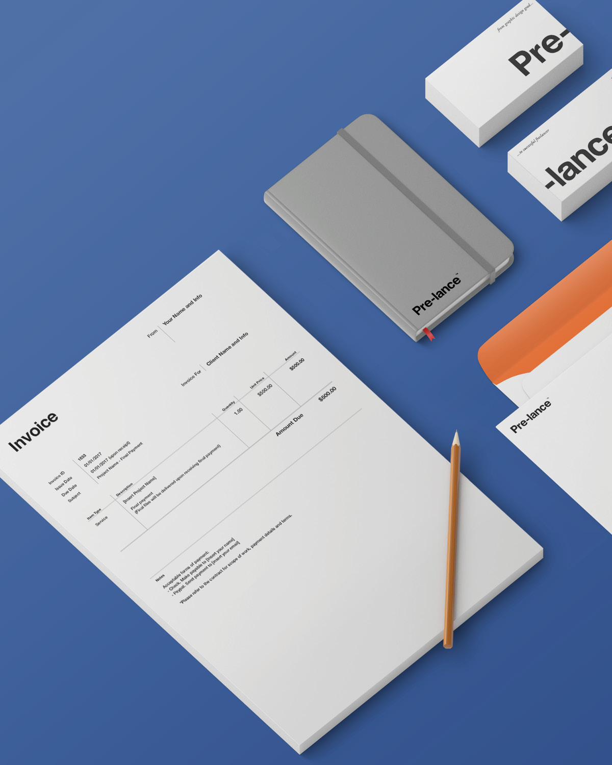pre-lance toolkit templates for freelancers