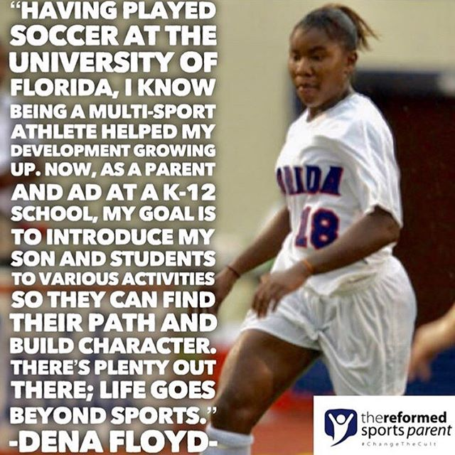 Love this quote from Coach Dena! So much knowledge and experience under her belt. Glad to know our coaches all share the same vision! . . . . . #knowledge #truth #coachdena #gators #multisportathlete #athletes #athletics #vision