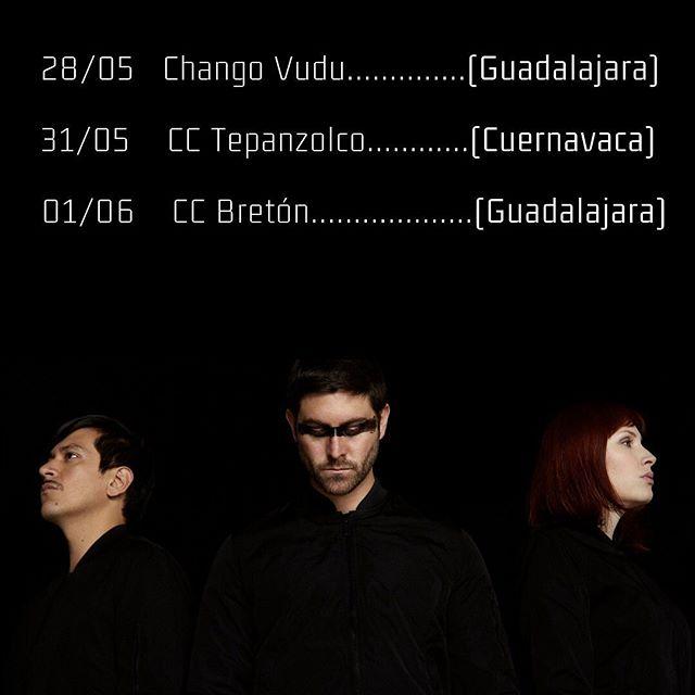 Estos son nuestros próximos shows en México: 👉🏼28/05 23h00 @fimprogdl en @changovudu (Guadalajara) 👉🏼31/05 20h00 @ccteopanzolco (Cuernavaca) 👉🏼01/06 23h00 @ccbreton (Guadalajara) Nos vemos🔥😜🤘🏽 . . . #show #cuernavaca #guadalajara #mexico #newmusic #composer #electronicmusic #electronica #andes #liveperformance #performance #party #partytime #beats #indie #indiemusic #art #artist