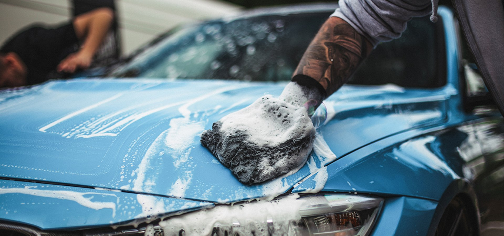 Exterior detail - Our exterior detail ensures that the exterior of your vehicle is immaculateAll areas including paintwork, wheels, arches, door jambs and glass are thoroughly cleaned and protected