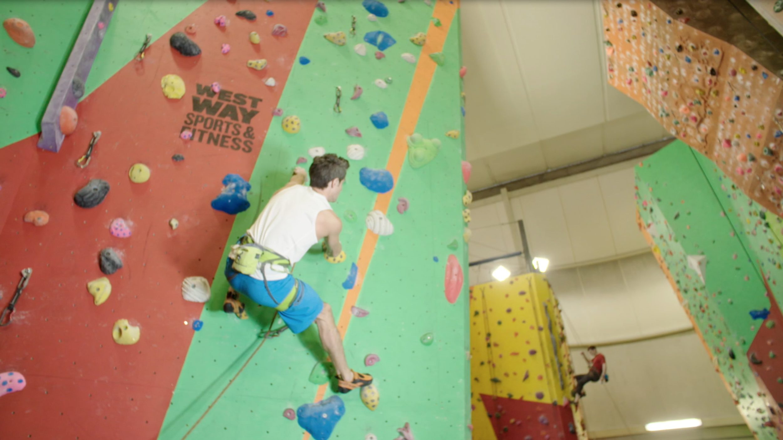 Westway Climbing Wall Promotional Video Client: Westway Sports Centre Directed by Palle Nodeland Music composed by Ben Smith  The music is composed with sounds gathered from within the wall.