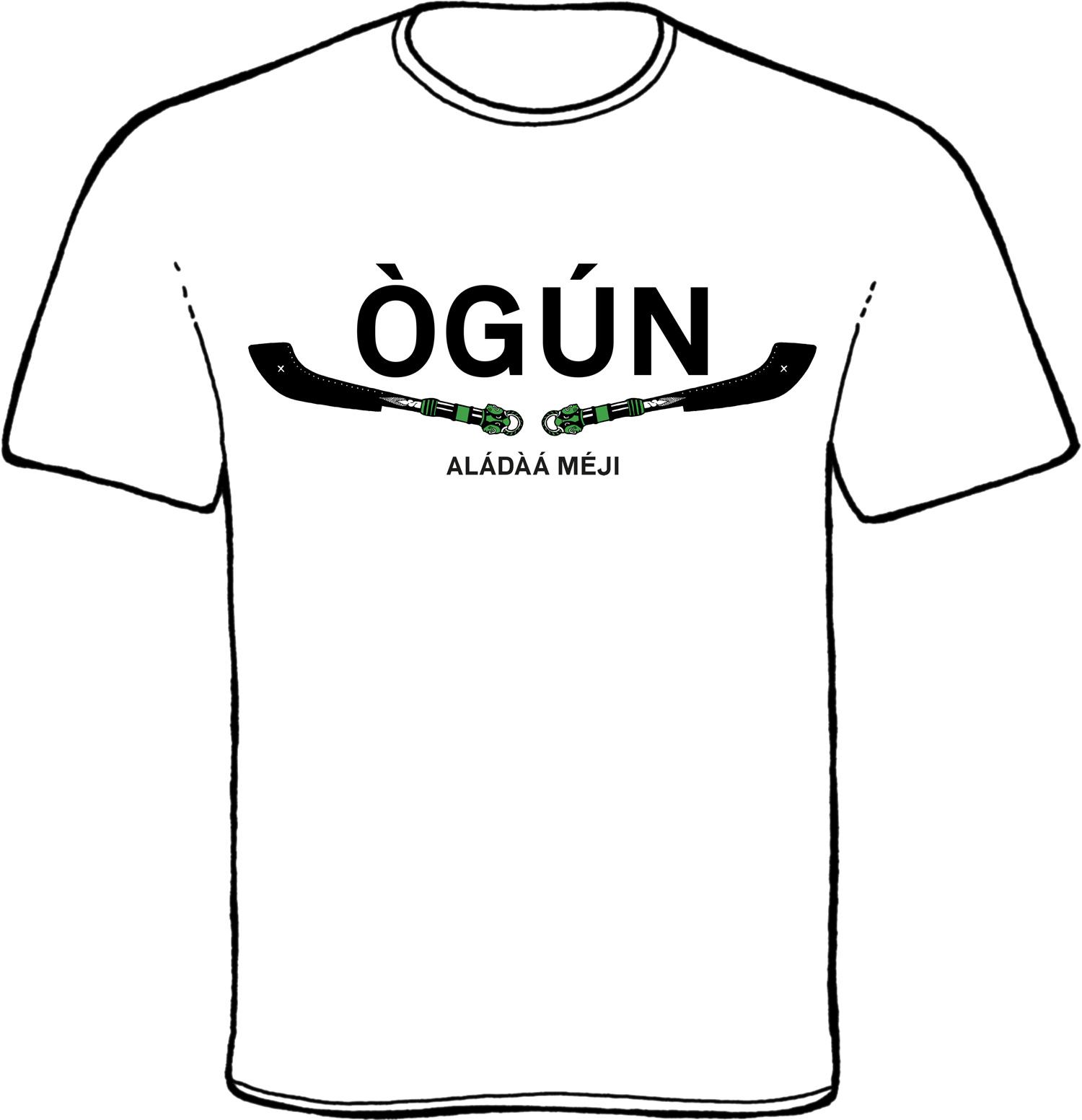 ogun, aladaa meji, oggun, oricha, orisha, orisa, elegba, los guerreros, ogum, orixa ogum, yoruba, t-shirt. orisha wear, orisha clothing, african textiles, yoruba clothes, ankara