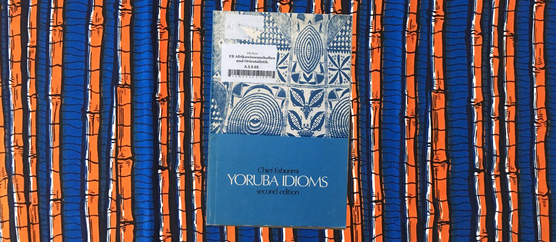yoruba idioms