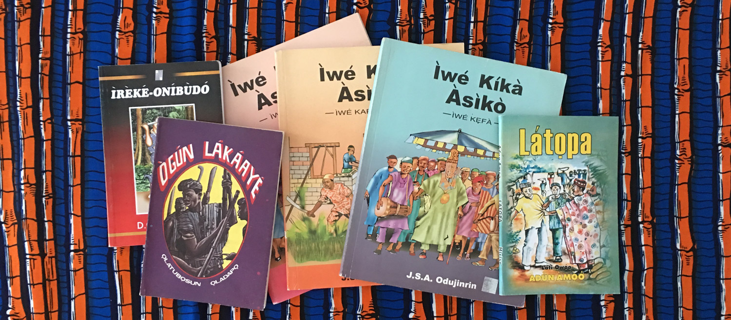 yoruba educational books