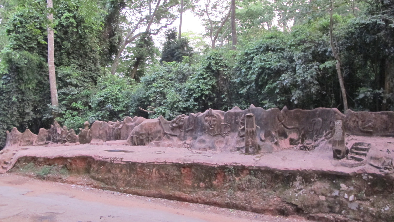 sacred grove of osogbo, osun osogbo, susanne wenger, adunni olorisa, orisha image, yoruba