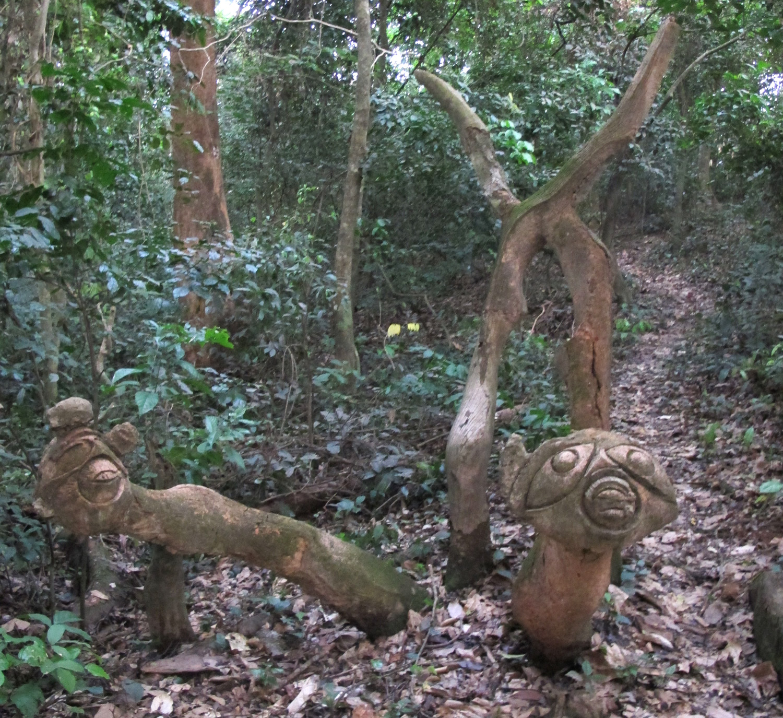 susanne wenger, sacred groves of shown oshogbo, yoruba art, new sacred art