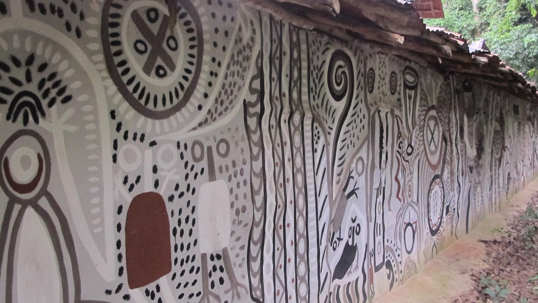 susanne wenger, sacred gorve of osun osogbo, unesco world heritage osogbo, new sacred art, orisha image
