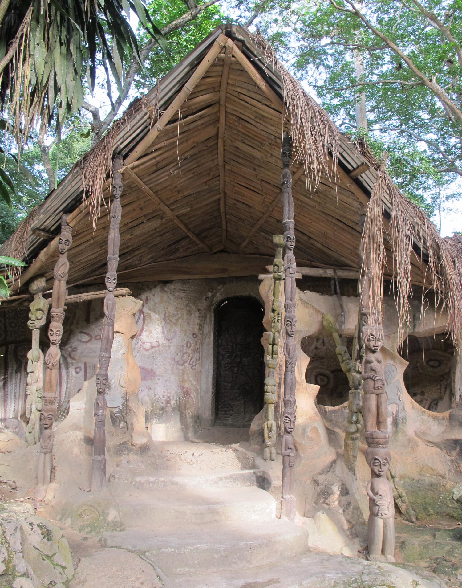 ojubo osun, susanne wenger, sacred grove of osogbo