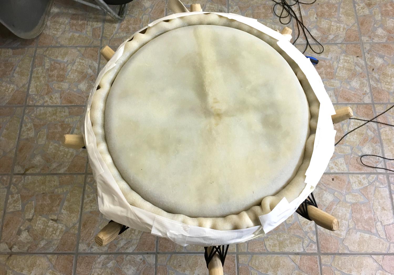 arara drums, peg drum tutorial