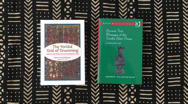 amanda villepastour, bata drumming book, ayan, orisha image