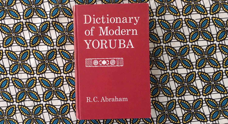 yoruba dictionary review, orisha image