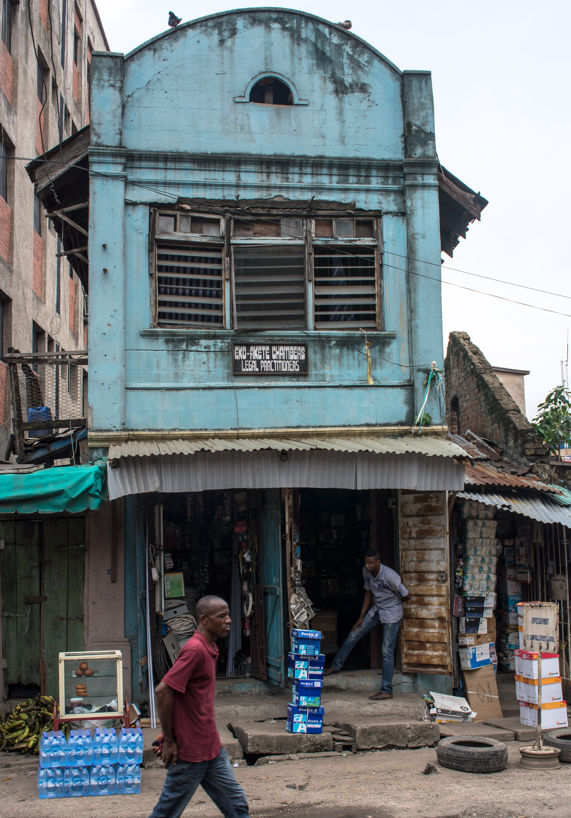 Example of Afro-Brazilian architecture in Popo Aguda quarter, Lagos. ©Aderemi Adegbite