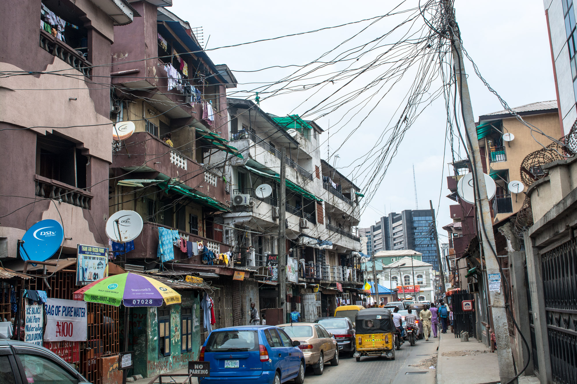 Popo Aguda quarter in Lagos today. ©Aderemi Adegbite