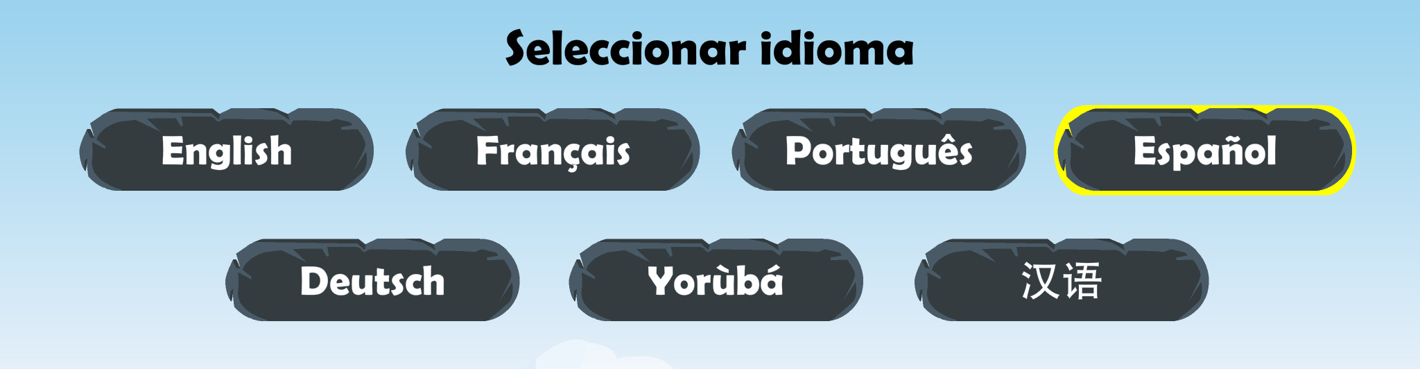 The Yorùbá apps are available in many languages. © Genii Games