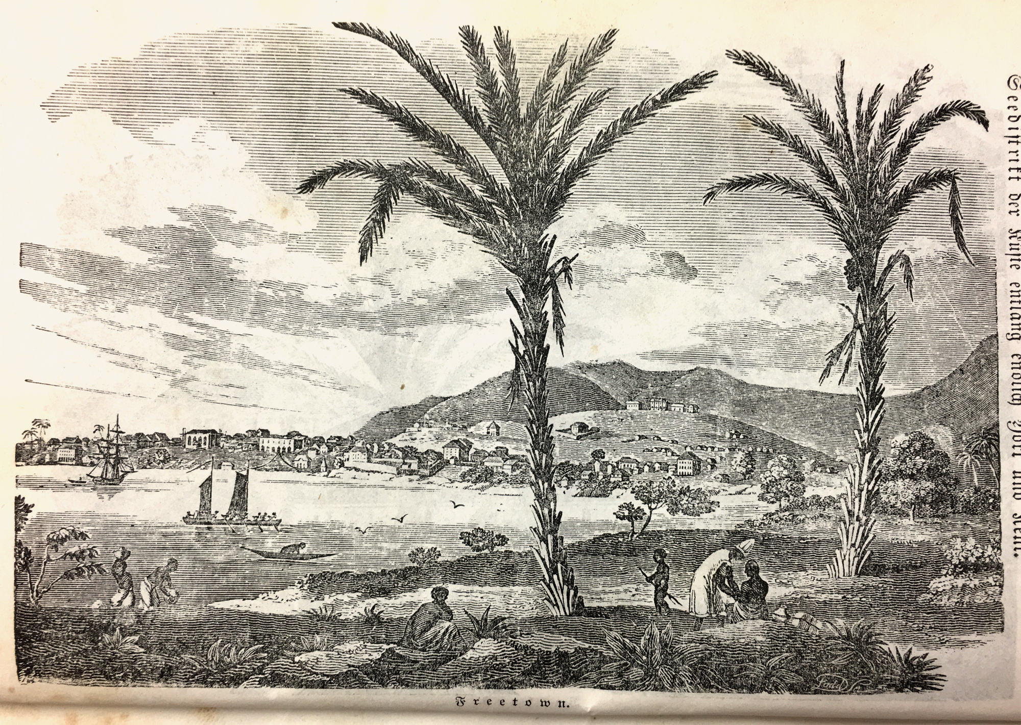Freetown in Sierra Leone became a safe haven for the liberated slaves, many of them came from Yorùbáland.