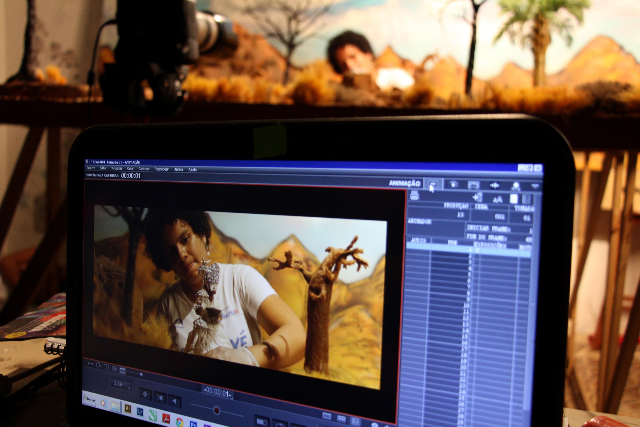 Director Jamile Coelho in the studio. ©Diane Luz