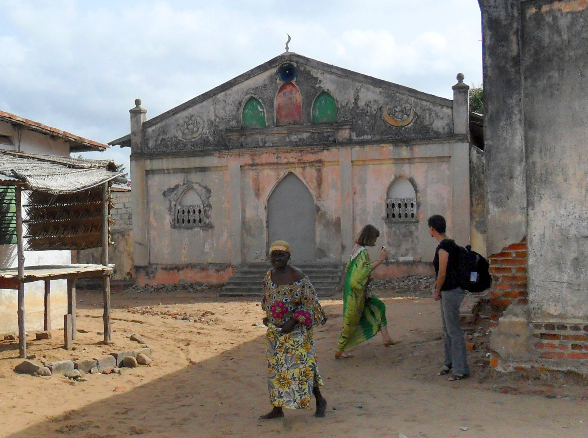 Idrissa was known as a marabout and one of his sons, Evaristo Tairu, studied the Koran with the imam Mamadou Daniel Bello da Gloria, ancestor of the Da Gloria family. Tairu became imam of the mosque in the Hausa quarter, shown here. ©Lisa Earl Castillo