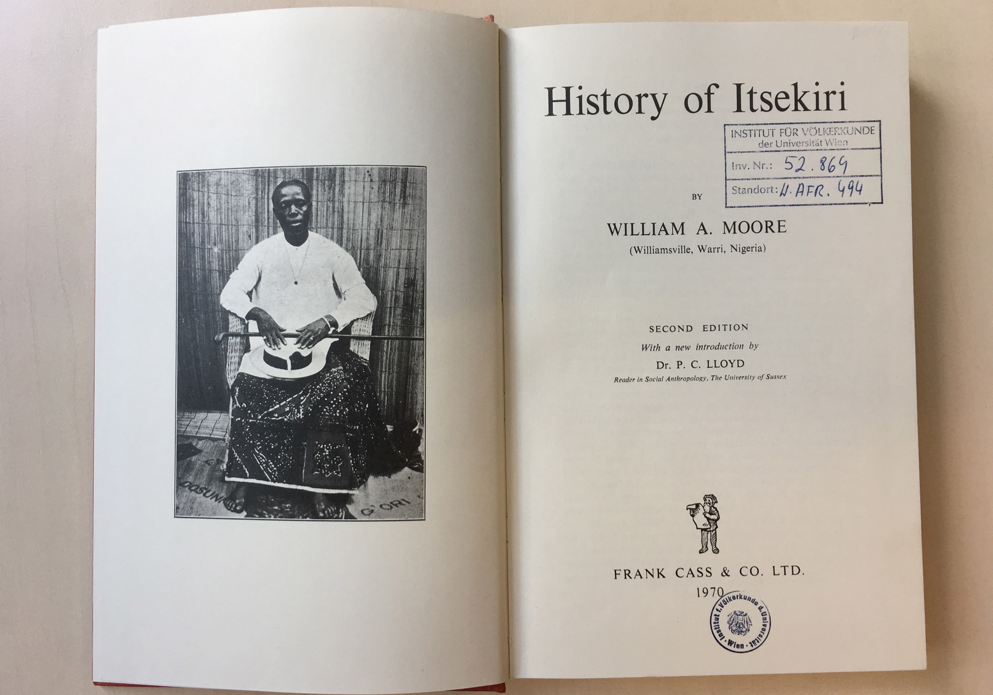 A book I read about the Itsekiri, an Eastern Yorùbá language group in Nigeria. I thought I could find some information about the Olukumi.