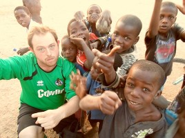 """Alex Stupple  - London   """"Chigoli Tour was far beyond any expectation that I could ever have had. The Lake is for me, the most beautiful thing I have ever seen and was like staying in paradise. The biggest highlight would have to have been the visit to the school and playing netball and football with the kids! Amazing, I can't even describe it."""""""