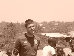 """Keith Jones  - Manchester  """"Playing football in Malawi was fantastic. Playing in a village against guys in bare feet on a dusty pitch with wooden goalposts in front of hundreds of curious locals is a unique experience, and something I will never forget."""""""