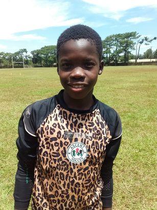 Julius Banda - Goal Keeper Full Sponsor: Rachel Macmillan