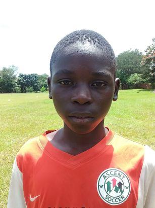 Gift Njirayafumbula - Striker Academy Sponsor: In Memory of Preston Hirten - Cynthia Beaudoin