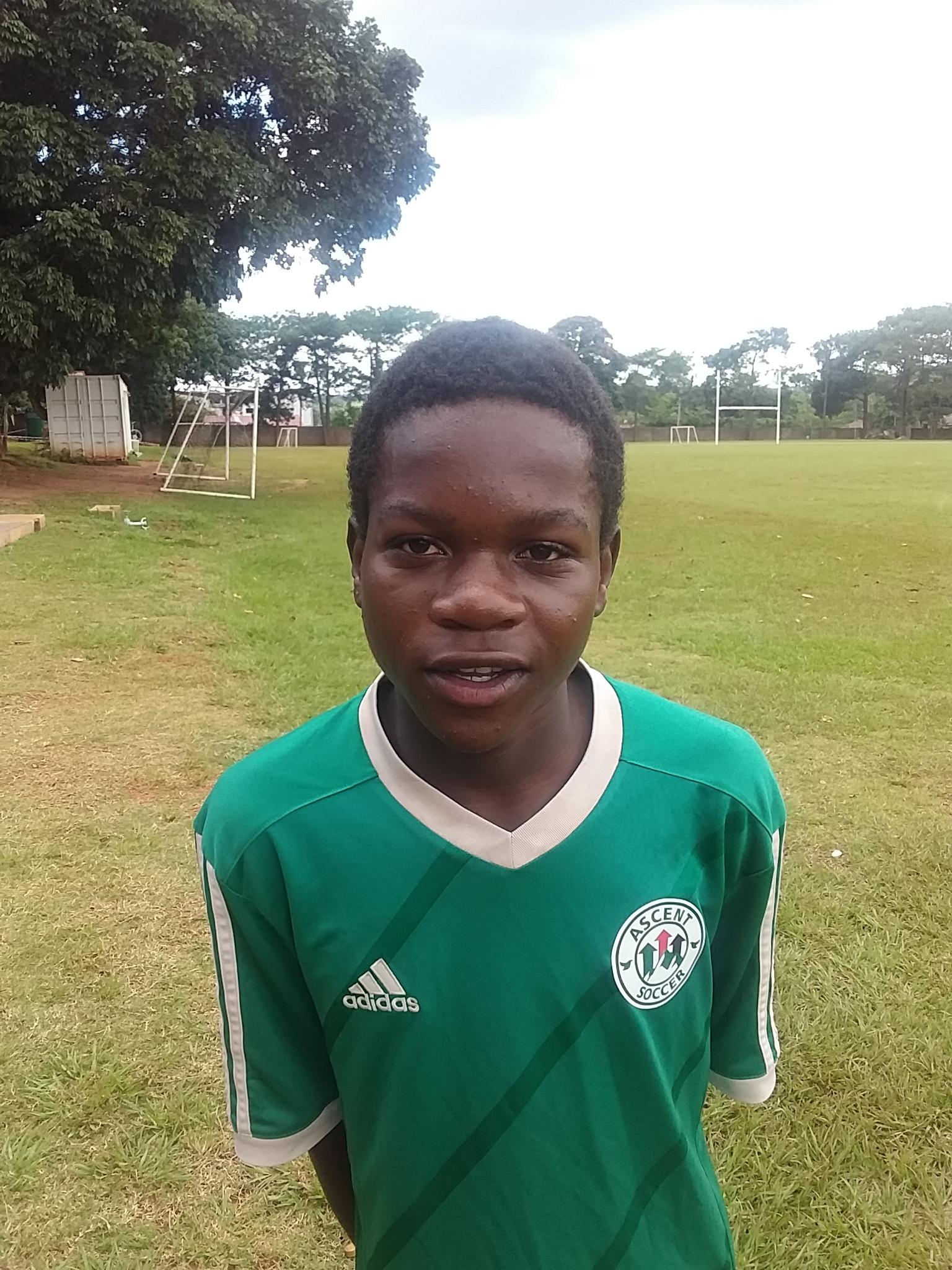 Chikondi Chimaponda - Holding Midfield Full Sponsor: S. Wood