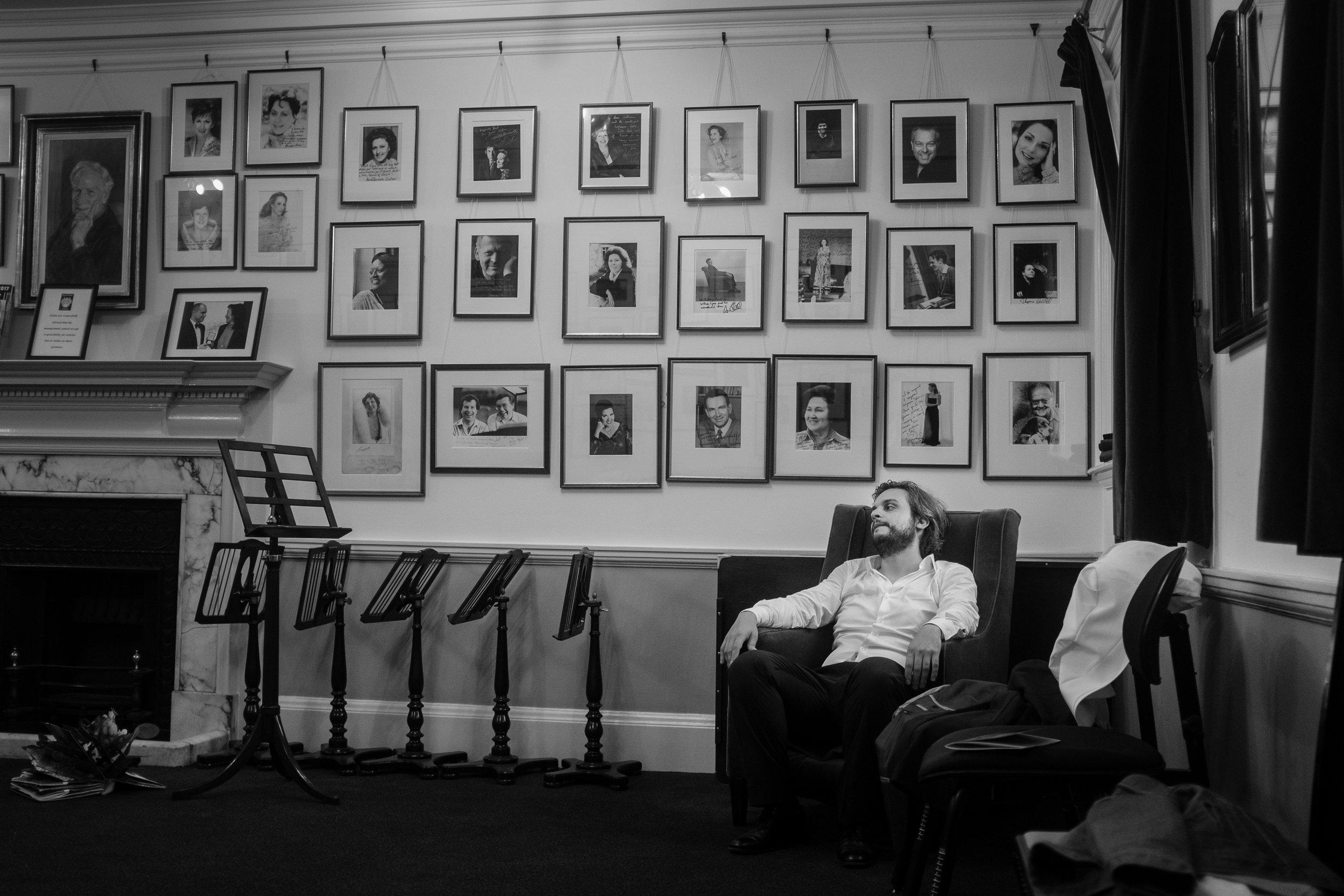 Nahuel di Pierro, Wigmore Hall, 2017